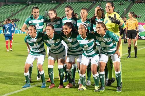 Equipo Santos Laguna femenil