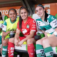Guerreras vs Águilas, Paola Calderón, Ana Gutiérrez, Olga Tr