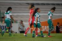 Guerreras vs Águilas, Cinthya Peraza, Wendy Toledo, Arlett T
