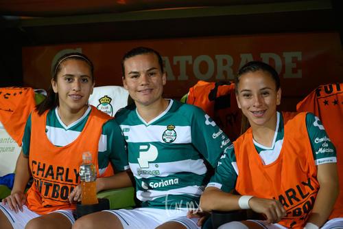 Karyme Martínez, Isela Ojeda, Linda Valdés