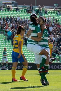 Festejo de gol, Yahaira Flores, Brenda Guevara