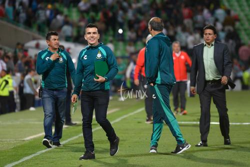 Chato Rodríguez, cuerpo técnico