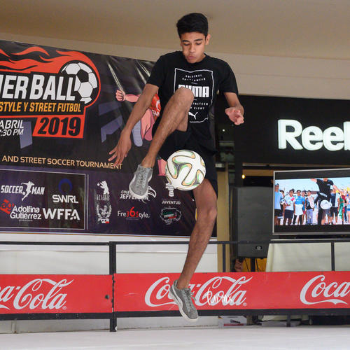 Torneo de freestyle y street futbol, Panther Ball 2019
