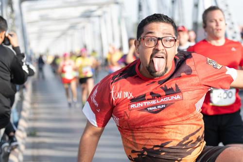 Maratón LALA 2020, puente plateado