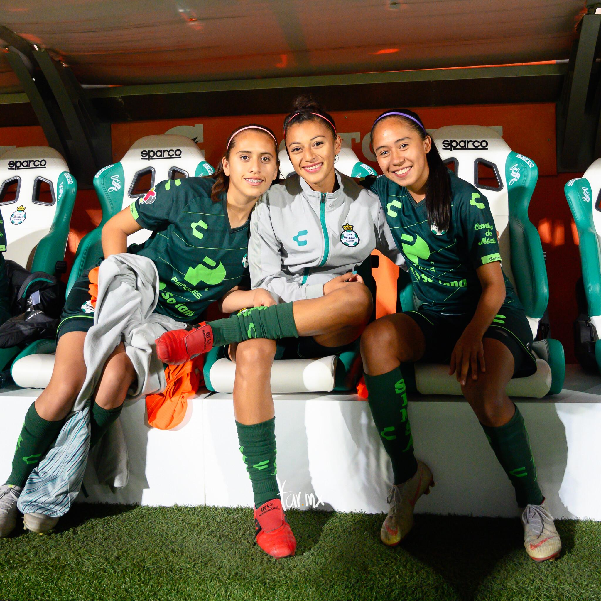 Brenda Guevara, Karyme Martínez, Olga Trasviña