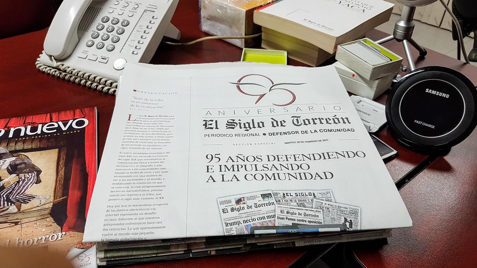 95 aniversario de El Siglo de Torreón