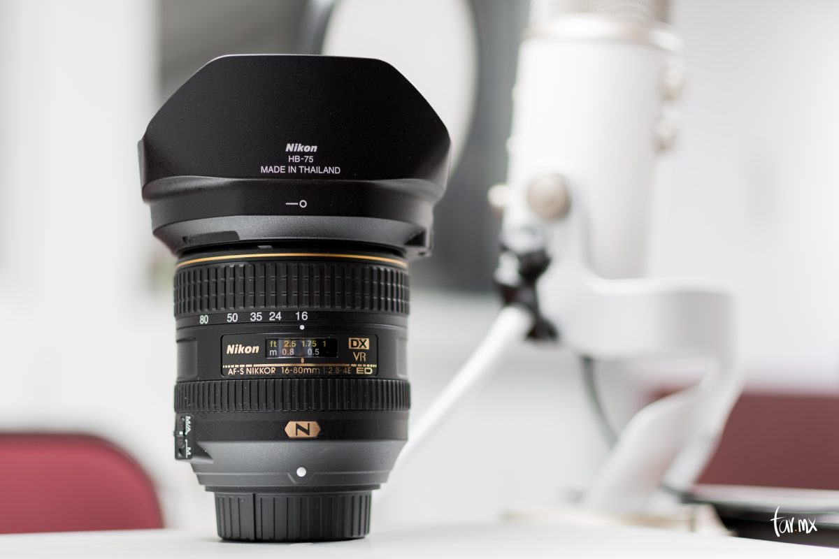 Nikon 16 80mm f/2.8 4E