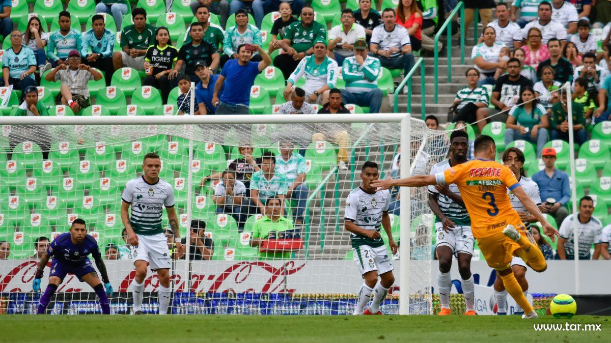 Juego Santos Tigres