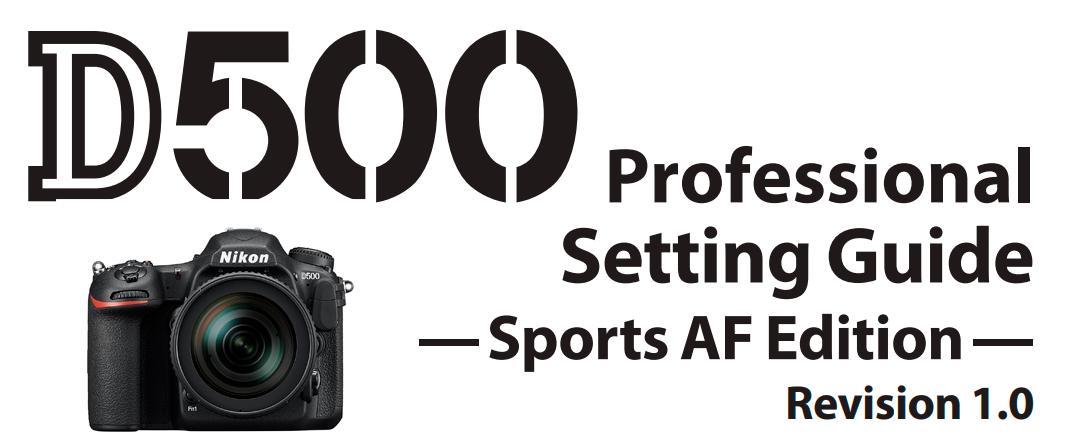 ajustes para deportes Nikon D500