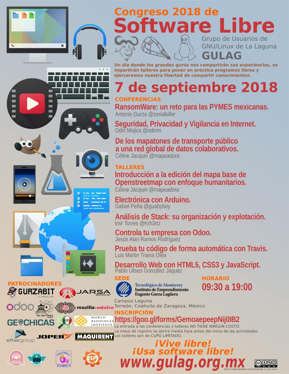 GULAG Congreso 2018 Poster