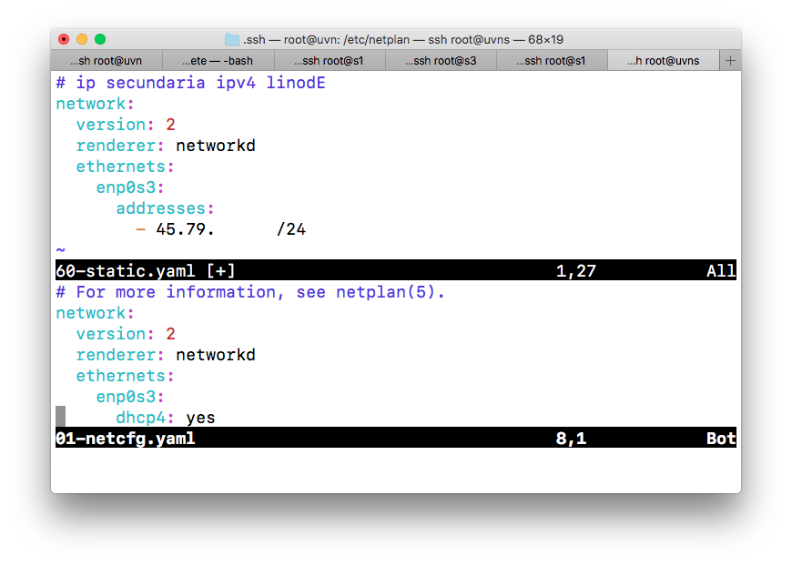 Netplan en Ubuntu 18.04 LTS